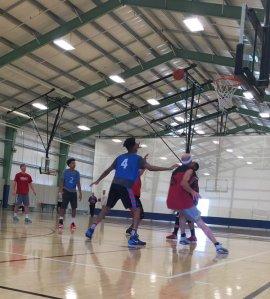 Splash Zone's Adult Basketball League