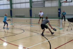 Pickleball is a great sport to play for all ages!